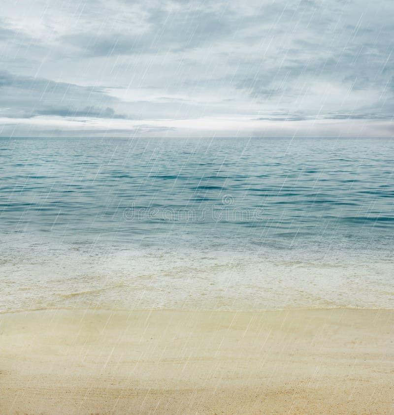 De oceaan van de zomer stock fotografie