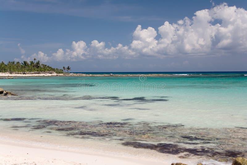De oceaan van Mexico royalty-vrije stock foto's
