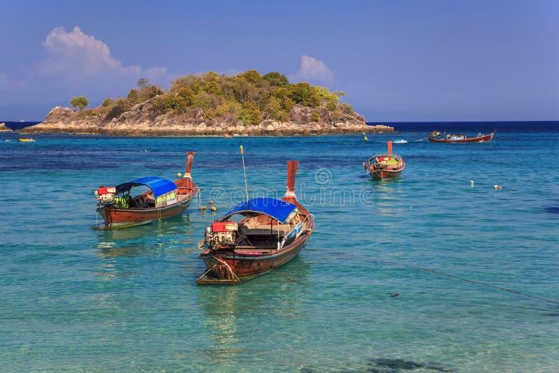 De oceaan van Thailand royalty-vrije stock afbeelding