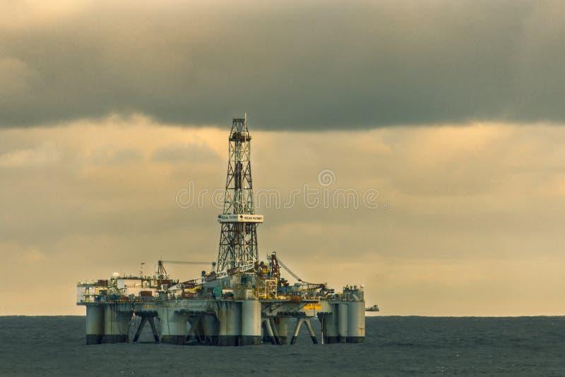 De Oceaanpatriot stock foto