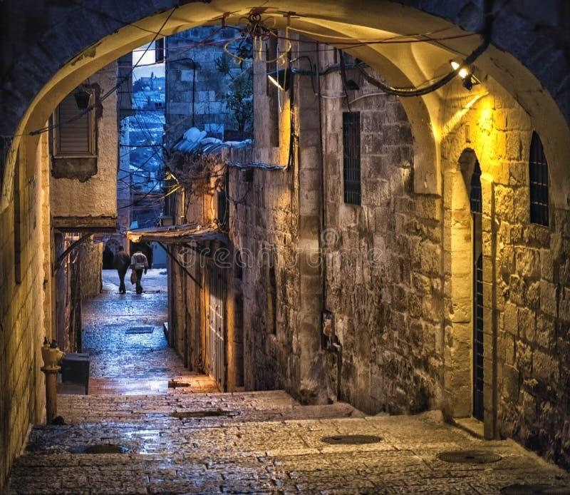 De Ochtend van Jeruzalem royalty-vrije stock fotografie