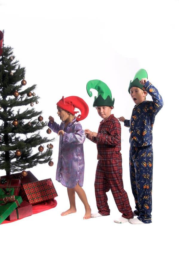 De Ochtend van Kerstmis royalty-vrije stock foto