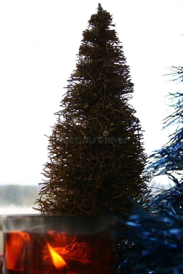 Download De ochtend van Kerstmis stock afbeelding. Afbeelding bestaande uit jaar - 25115