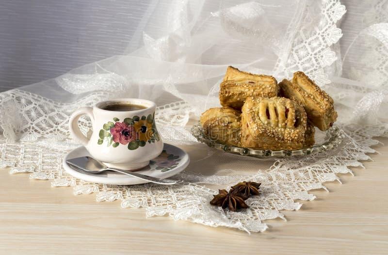 De ochtendkoffie royalty-vrije stock afbeelding