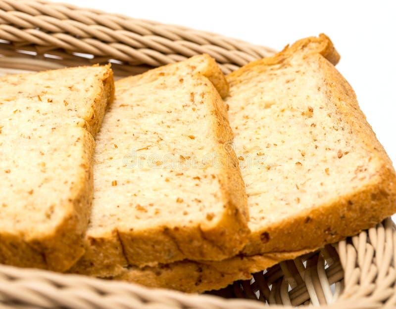 De Ochtendmaaltijd en Onderbrekingen van boterhammenmiddelen stock afbeeldingen
