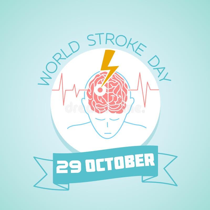 29 de octubre día del movimiento del mundo libre illustration