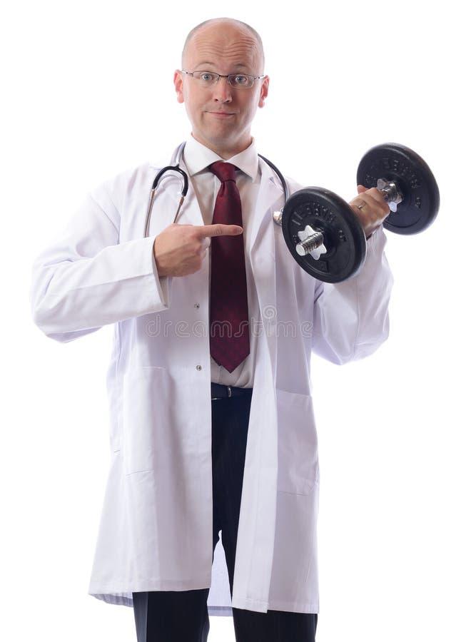 De oefening van doc. stock foto