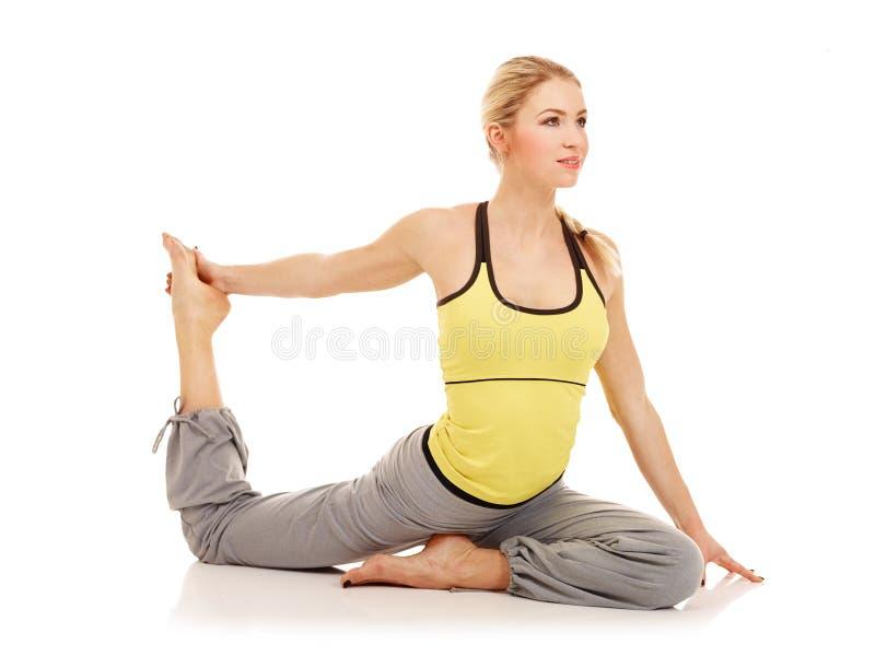 De oefeningen van de aerobics royalty-vrije stock fotografie