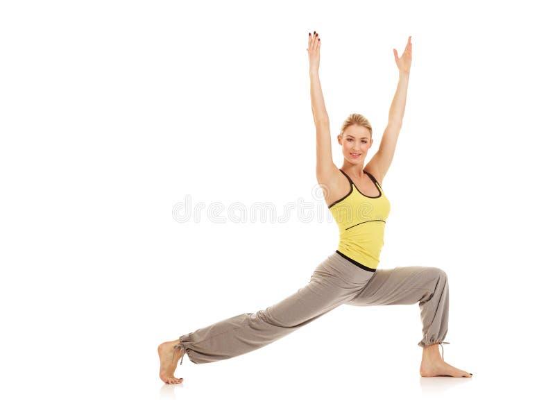 De oefeningen van de aerobics stock foto's