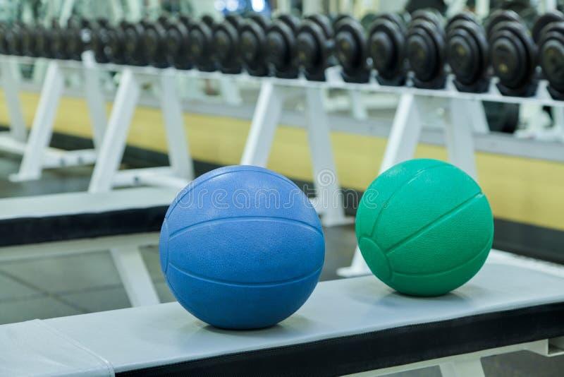 De oefeningsballen van de geneeskunde royalty-vrije stock foto