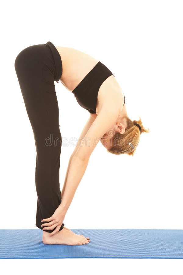 De oefeningsreeks van Pilates royalty-vrije stock fotografie