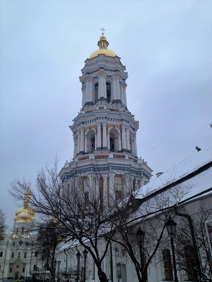De Oekraïne, Kiev Kiev Pechersk Lavra stock foto