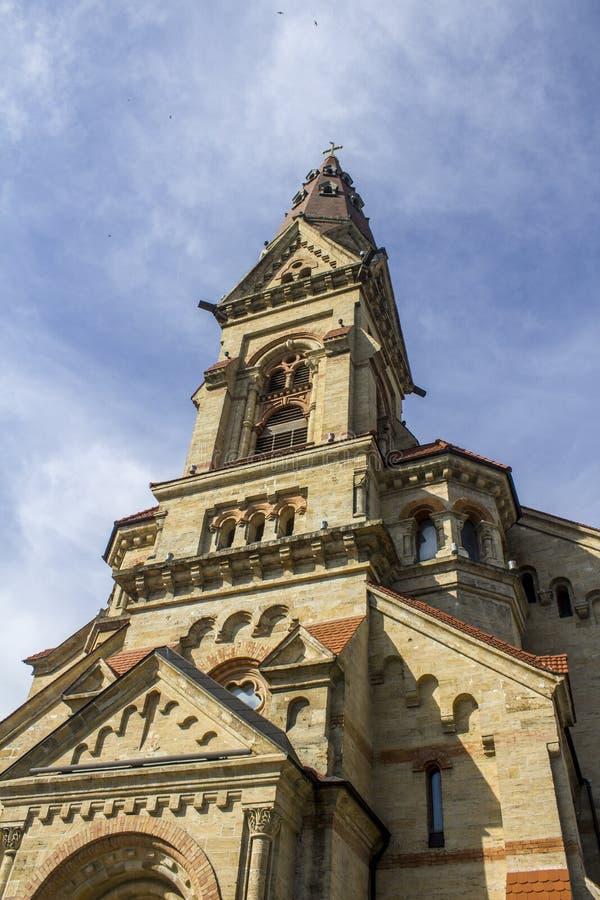 De Oekraïne Odessa German Church De mooie Bouw stock afbeelding