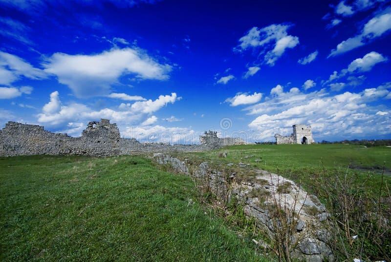 De Oekraïne. Oud kasteel. royalty-vrije stock afbeeldingen