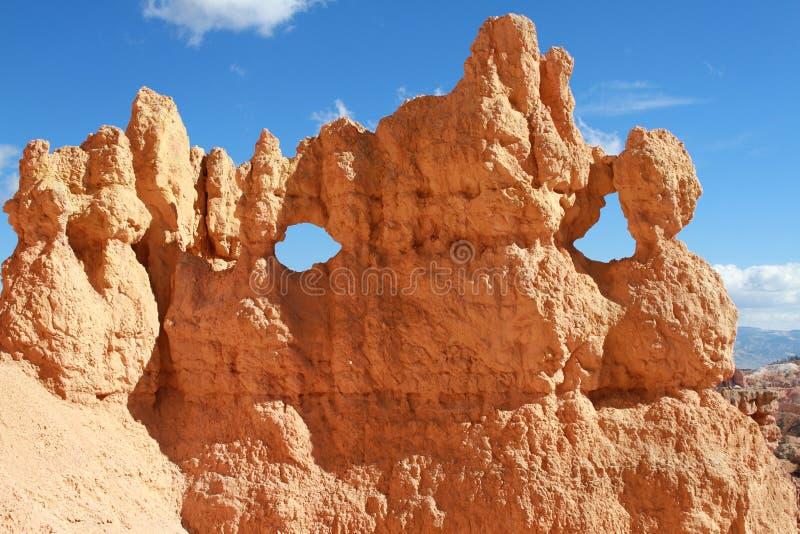 De ogen van Bryce Canyon National Park royalty-vrije stock afbeeldingen