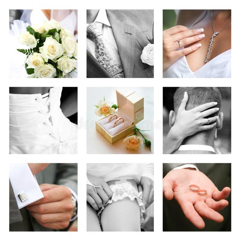 De ogenblikken van het huwelijk royalty-vrije stock fotografie