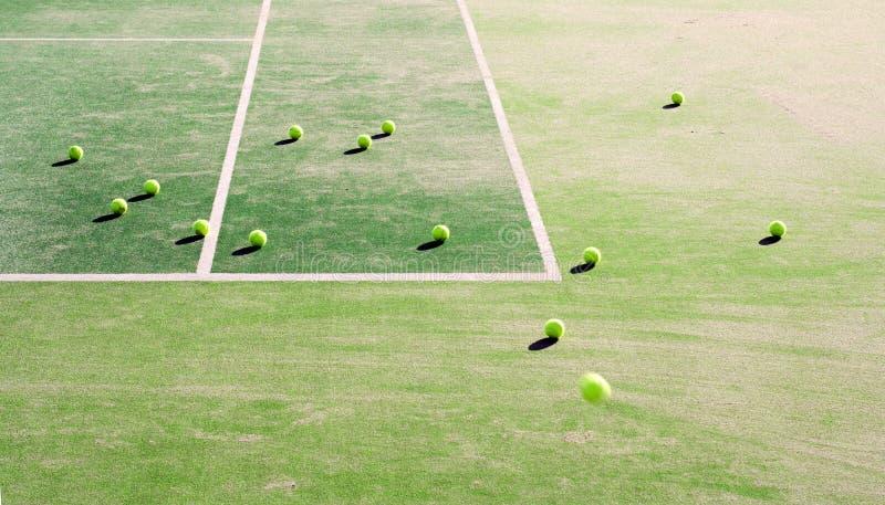 De ogenblikken van het tennis ...... stock fotografie