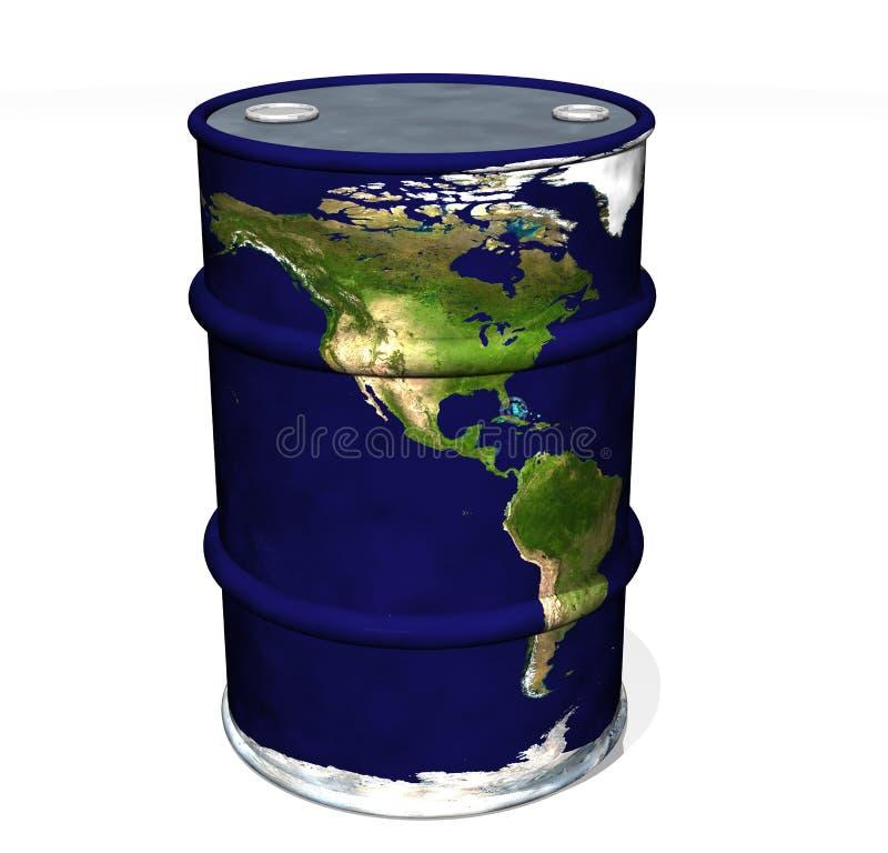 De Olie van de wereld stock illustratie