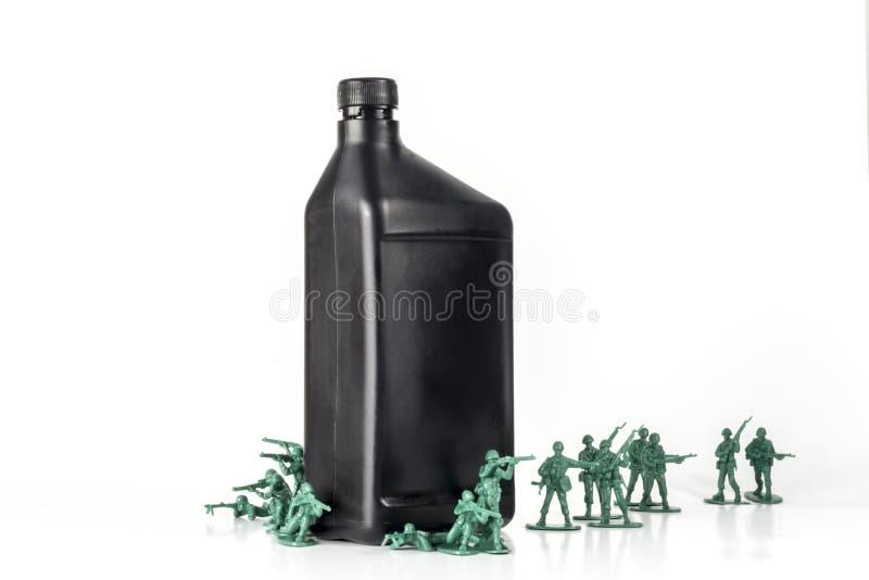 Download De Olie van legermensen stock afbeelding. Afbeelding bestaande uit productie - 54091803