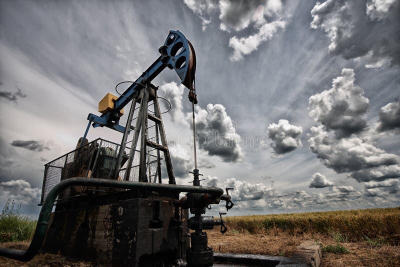 De oliepomp stock foto's