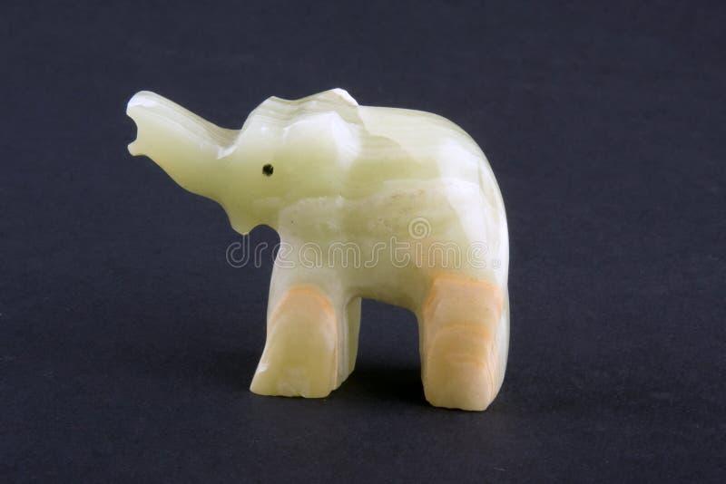 De olifant van het onyx stock fotografie
