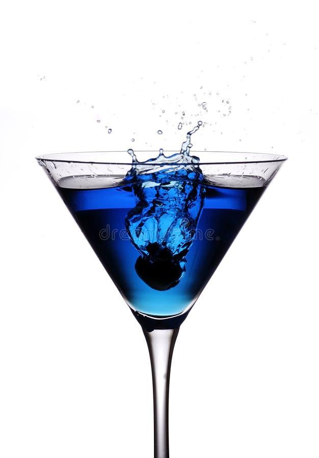 De olijfplons van de cocktail stock foto