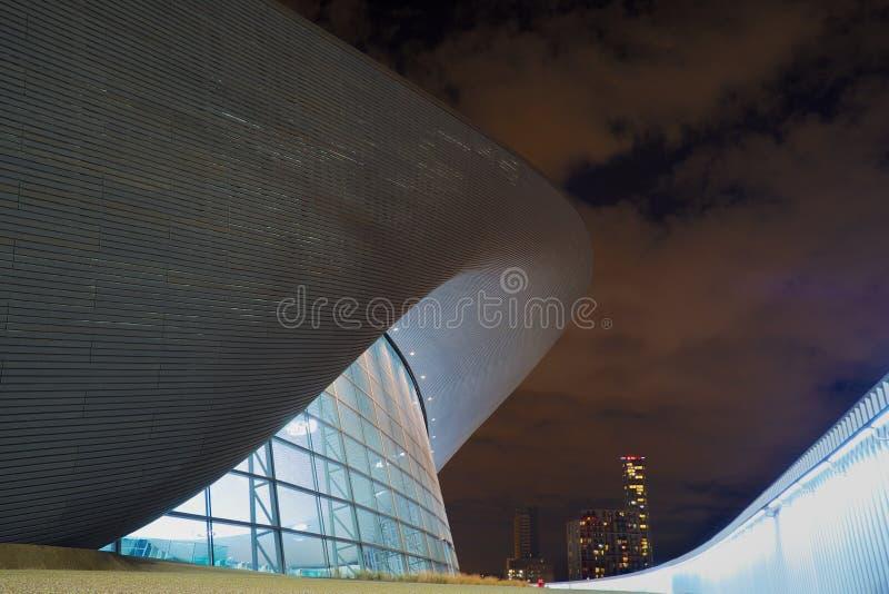 De Olympische Pool van Londen stock foto