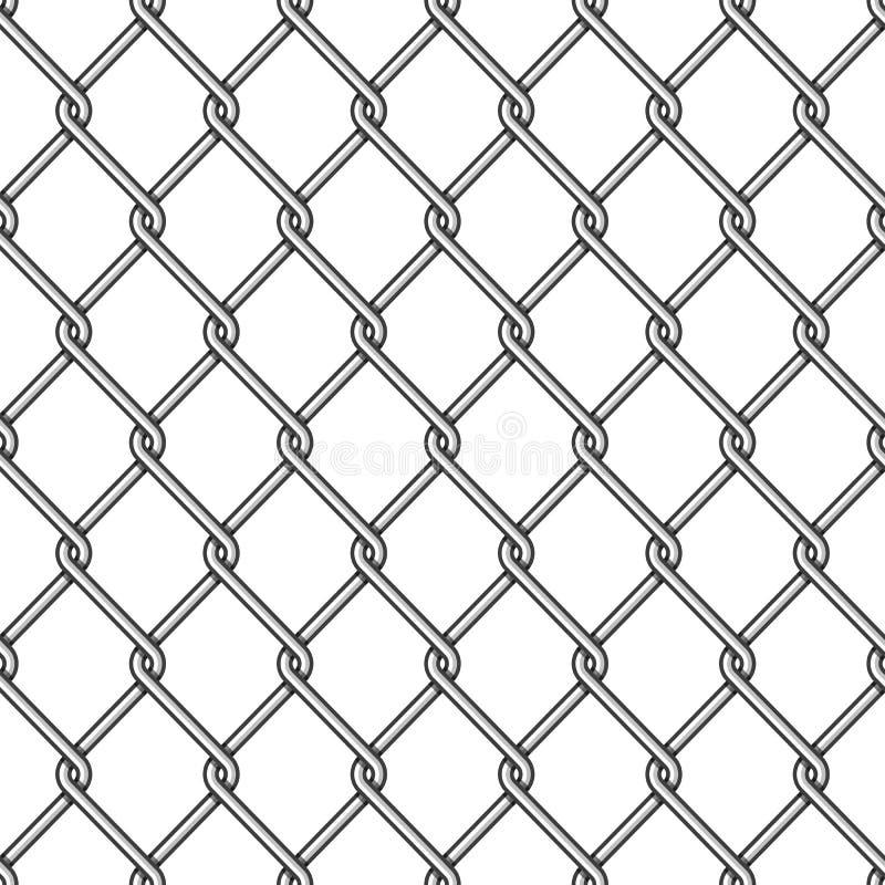 De Omheining Background van de kettingsverbinding vector illustratie
