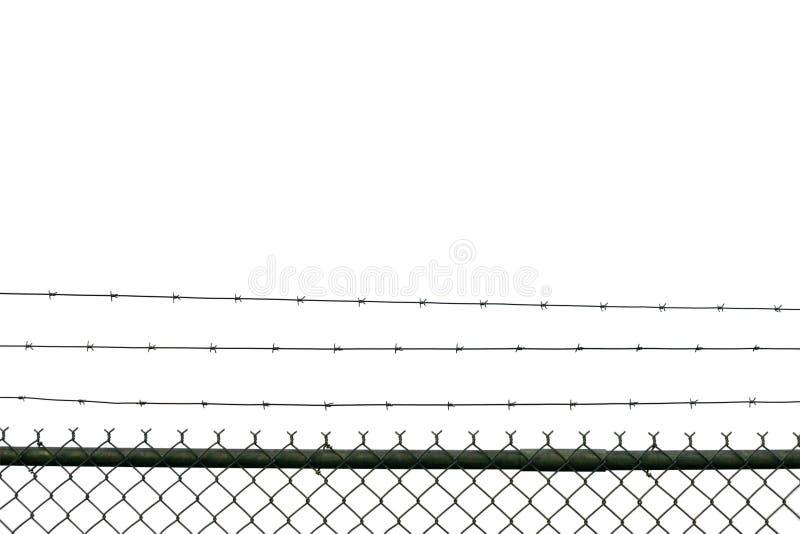 De Omheining van de gevangenis royalty-vrije stock foto