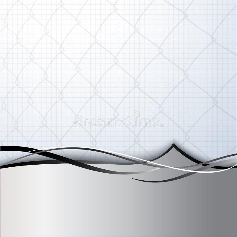 De Omheining van de ketting. vector illustratie