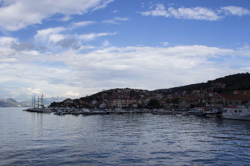¡de OmiÅ, Croacia foto de archivo libre de regalías