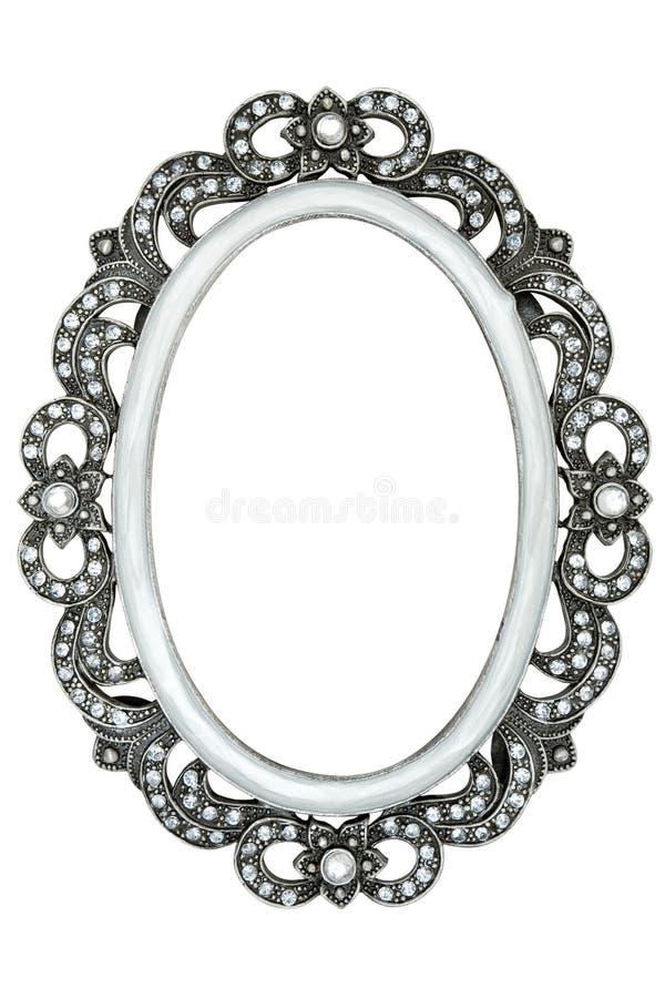 De Omlijsting van Jeweled royalty-vrije stock fotografie