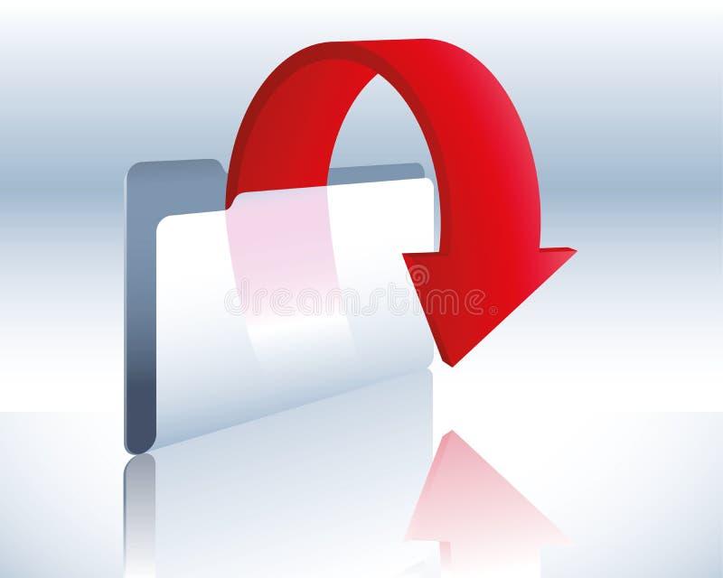 De omslag van de download stock illustratie