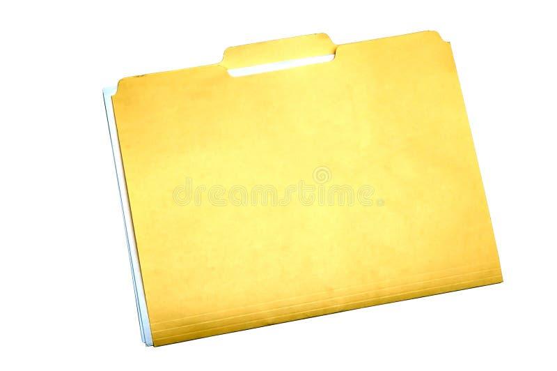 De Omslag van het dossier stock foto
