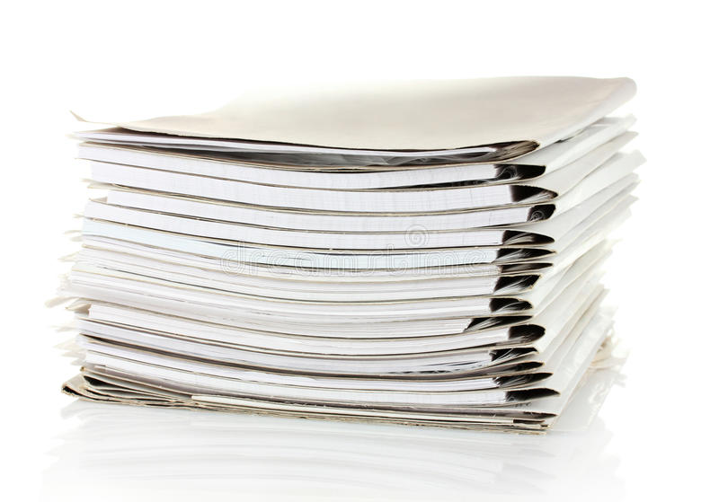 De omslagen van het dossier royalty-vrije stock afbeelding
