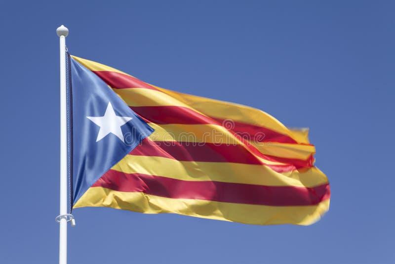 De onafhankelijke van Catalonië royalty-vrije stock fotografie