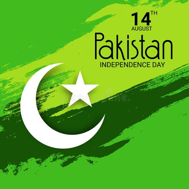 De onafhankelijkheidsdag van Pakistan royalty-vrije stock foto