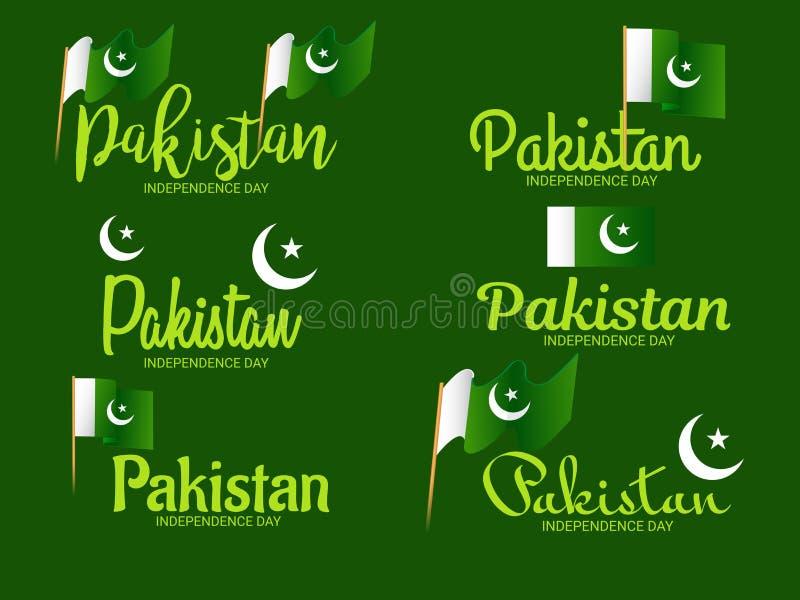 De onafhankelijkheidsdag van Pakistan royalty-vrije stock foto's