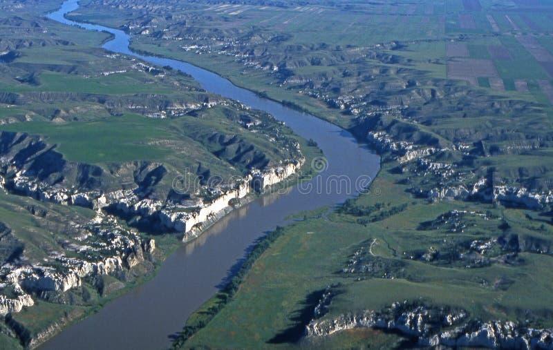 De Onderbrekingen van Missouri in Montana royalty-vrije stock afbeelding