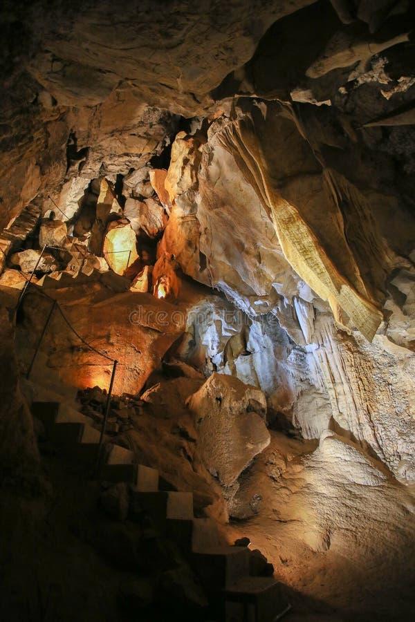 De ondergrondse Holen van aantrekkelijkhedenjenolan Oriëntatiepunt Australië stock foto