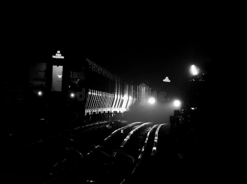 De Ondergrondse Tunnel van Londen royalty-vrije stock fotografie