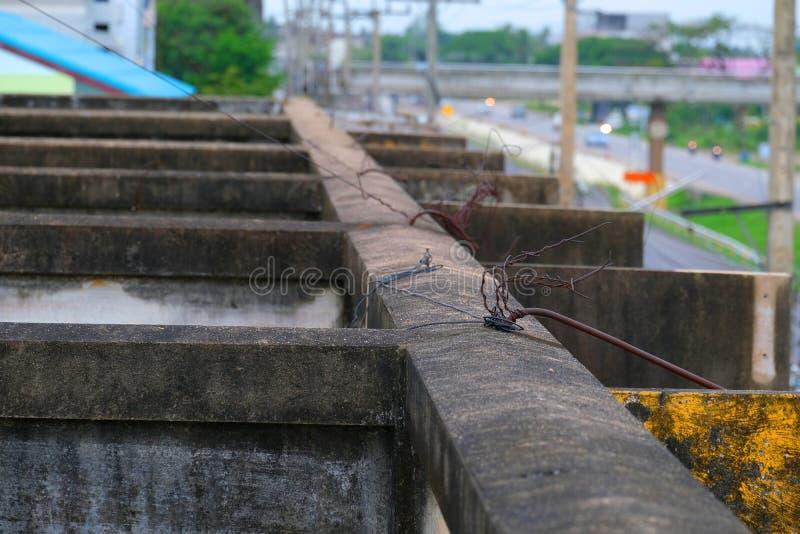 De onderling verbonden die gebouwen, van over Thailand ` s andere erfenisgebouwen, zoals structuurstructuur worden verkregen stock foto