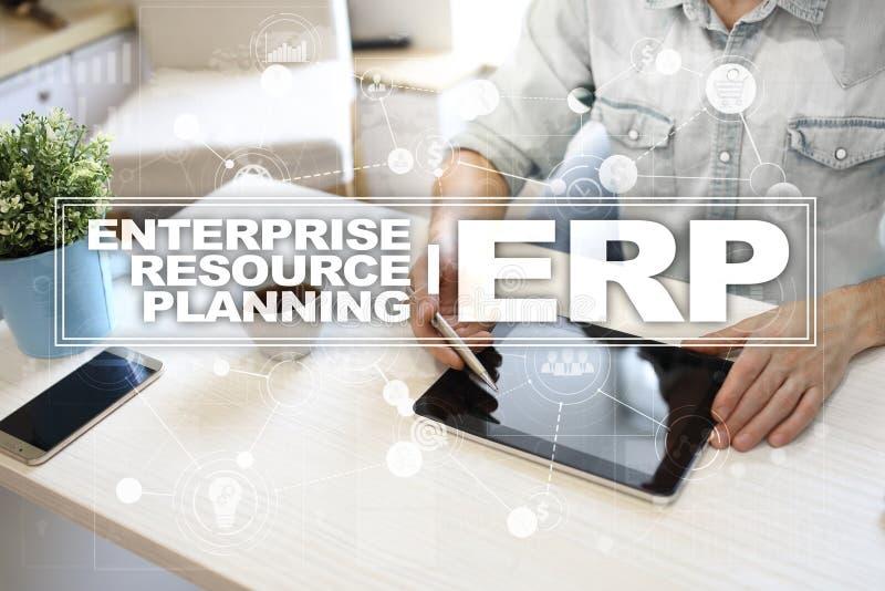 Download De Onderneming Van Middelen Voorziet Planningszaken En Technologieconcept Stock Illustratie - Illustratie bestaande uit beheer, marketing: 114225074