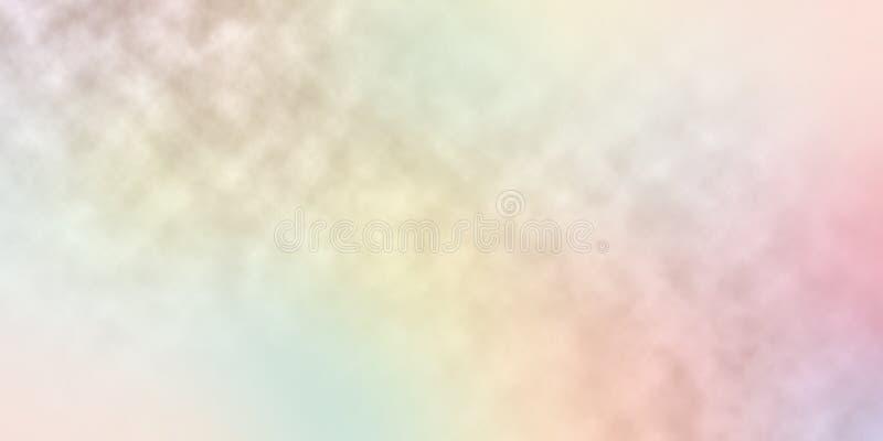 De onduidelijk beeldregenboog kleurt achtergrondsamenvatting stock illustratie