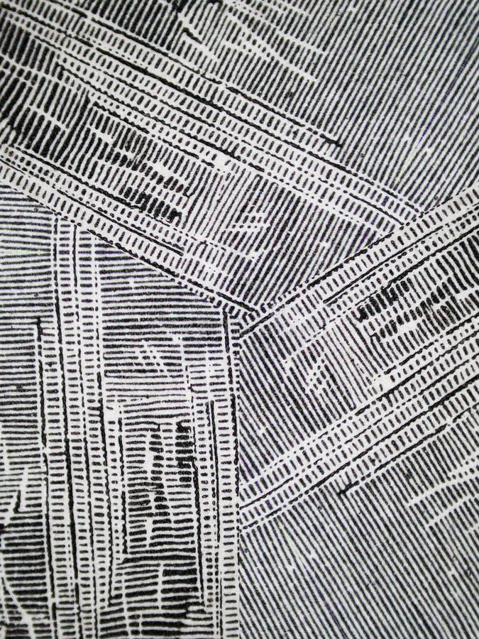 De oneven Gestreepte Textuur van de Inkt Grunge stock afbeeldingen
