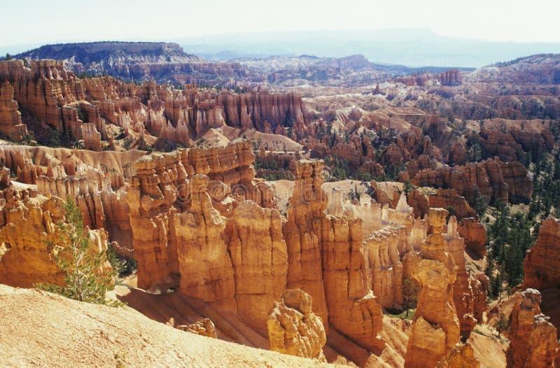 De ongeluksbodevormingen van de V.S. Utah Bryce Canyon National Park stock foto's