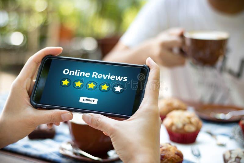 De online tijd van de Overzichtenevaluatie voor de Beoordeling van de overzichtsinspectie royalty-vrije illustratie