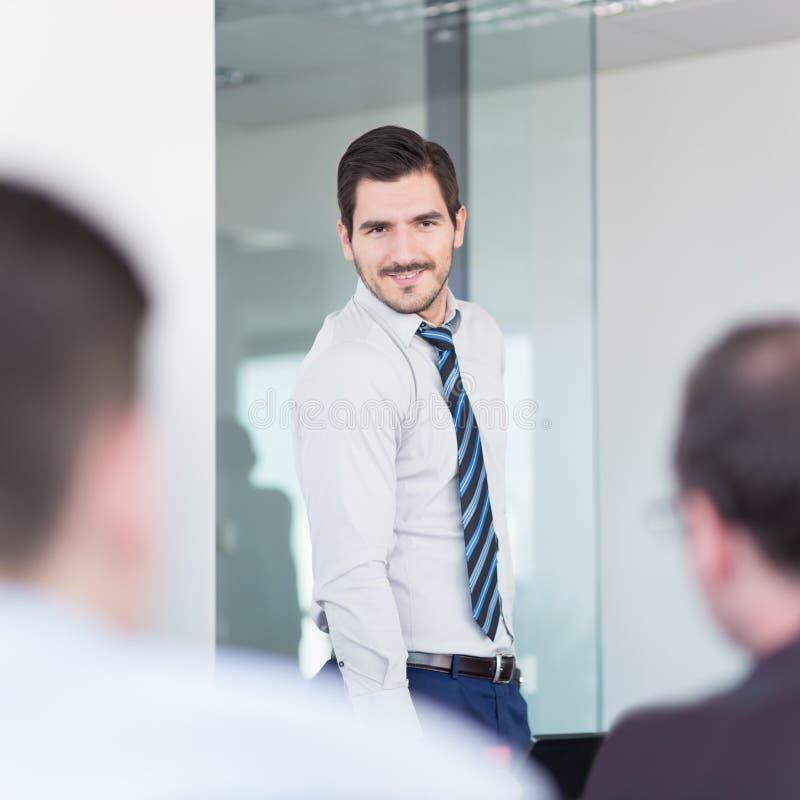 De ontspannen informele van het commerciële vergadering teambureau royalty-vrije stock foto's