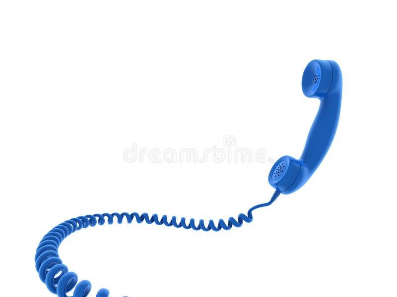 De ontvanger van de telefoon royalty-vrije illustratie