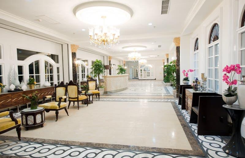 De ontvangst van het hotel royalty-vrije stock foto